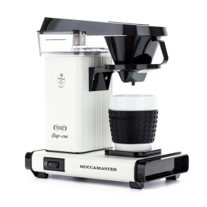 MOCCAMASTER CUP-ONE COFFEE BREWER WHITE CREAM EKSPRES PRZELEWOWY