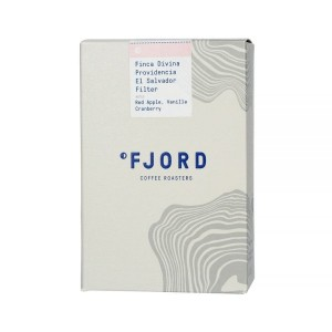 Fjord Coffee El Salvador Divina Providencia Natural Filter 250g kawa ziarnista Speciality do dripa