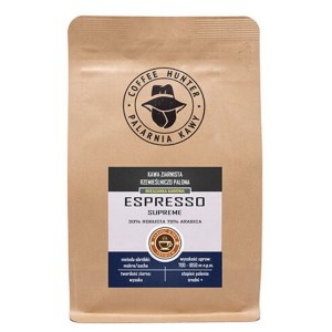 Coffee Hunter Espresso Supreme 1kg kawa ziarnista do ekspresu ciśnieniowego