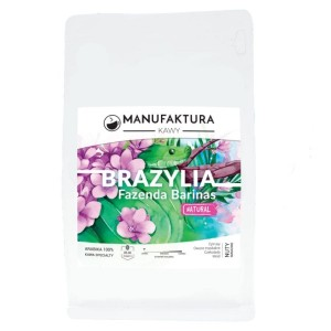 Manufaktura Kawy Brazylia Fazenda Barinas filtr 1kg kawa ziarnista Speciality single origin do dripa