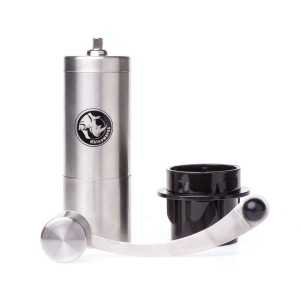 Rhinowares Compact Hand Coffee Grinder młynek ręczny do kawy z adapterem do AeroPress'a