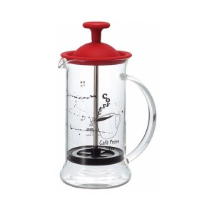 Hario Cafe Press Slim S Red French Press 240 ml