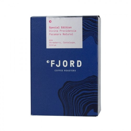 Fjord Coffee El Salvador Pacamara Natural Filter 250g Special Edition | CoffeeLove