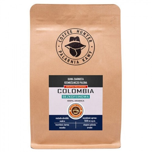 Coffee Hunter Colombia bezkofeinowa 1kg | CoffeeLove